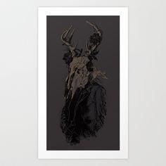 The Optimist Art Print by Nicebleed - $18.00