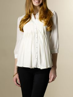 Olivia Blouse from Rosie Pope Maternity on Gilt