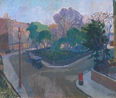 Spencer Gore, 'Houghton Place' 1912