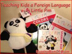 Teaching Kids a Foreign Language with Little Pim #kids #homeschool #teaching