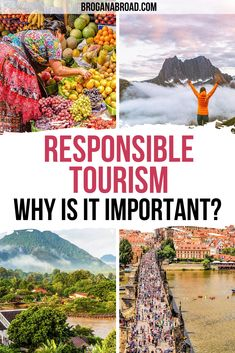 What is responsible tourism? This article explains what responsible tourism means and why it's important, including successful responsible tourism examples #responsibletravel #responsibletourism #sustainabletravel #travel #ethicaltravel Paris Travel Tips, Travel Goals, Travel Advice, Travel Guides, Responsible Travel, Sustainable Tourism, Travel Reviews, Romantic Travel, Solo Travel