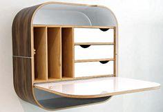 Wall Desk :: Vurv DesignStudio - MAIYA - MY ADVENTURE IS YOUR ADVANTAGE :: ART / DESIGN / FASHION / DECOR