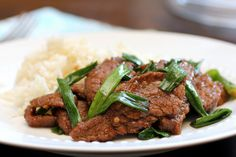 Mongolian Beef by Food Snots, via Flickr