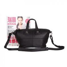 6ab6a0eaed Givenchy Nightingale Bags on Sale - Classic Replica Givenchy Nightingale  Leather Holdall Bag G6322 Black