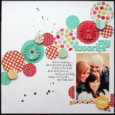 interesting line of circles across the page. Layout by Elizabeth Carney