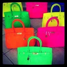 Beautiful Handbags, Beautiful Bags, Hermes Birkin, Birkin Bags, Hermes Bags, Hermes Purse, Hermes Handbags, Orange Mode, Neon Bag