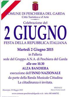 Festa della Repubblica il 2 giugno 2015 a Peschiera del Garda @gardaconcierge
