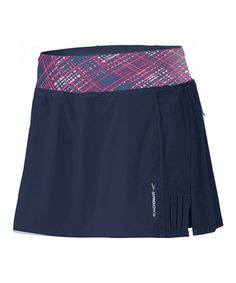 Loving this Midnight & Midnight Crosshatch Glycerin Skort - Women on #zulily! #zulilyfinds