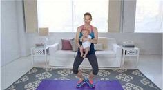 Watch Exercise With Baby: Thighs, Butt and Calves in the  Video