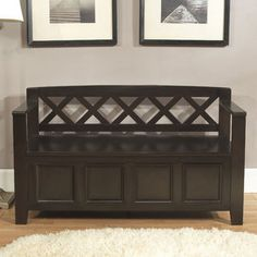 Simpli Home Amherst Entryway Bench