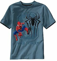 Spiderman Graphic Tee - Boys 6-18 on shopstyle.ca