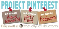 Project Pinterest at The DIY Club: February is I {heart} RED