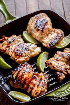 GRILLED TEQUILA LIME CHICKEN TACO SALADReally nice recipes.  Mein Blog: Alles rund um die Themen Genuss & Geschmack  Kochen Backen Braten Vorspeisen Hauptgerichte und Desserts # Hashtag