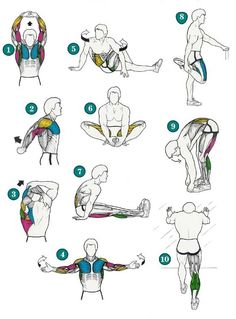 After workout stretches! so good. #backinmotion.us