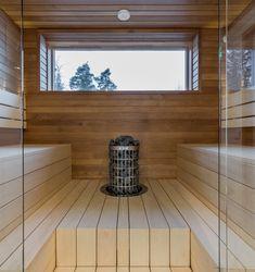 #lakkakivitalot #kivitalo #sauna #talo #house #interior #design #architecture #rakentajat2020 #rakentajat2021 Kuva: Lepton Oy Alcove, Bathtub, Interior Design, Bathroom, Architecture, House, Bath Tube, Design Interiors, Bath Tub