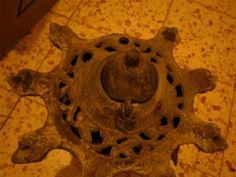 Syrian Syria Aleppo Menorah 1899 Oil Lamp Jewish Judaica Ancient Antique Museum | eBay