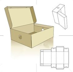 How to make a packing box for a gift with their own hands. Schemes – DIY is FUN