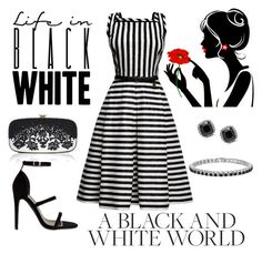 """""""Untitled #610"""" by gallant81 ❤ liked on Polyvore featuring Rumour London and Oscar de la Renta"""