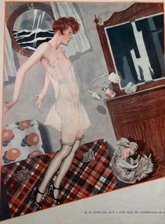 by Georges Leonnec for La Vie Parisienne