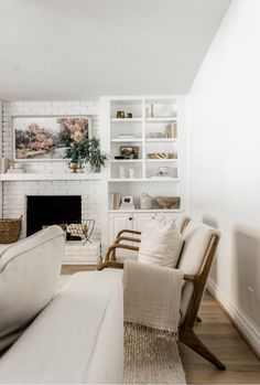 Cute Living Room, Rugs In Living Room, Home And Living, Living Room Designs, Living Room Decor, Living Room Neutral, Modern Living, Living Area, Wayfair Living Room Furniture
