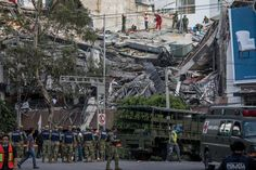 Why Two Major Earthquakes Hit Mexico, Explained - The New York Times