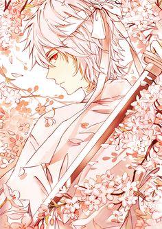 Tags: Anime, Fanart, Gin Tama, Pixiv, Sakata Gintoki