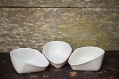 The Ice Cream Bowls by Haand, NC-based ceramics company. The verdict: iWant.