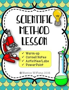 This product includes Cornell notes, an activity and a PowerPoint on scientific…