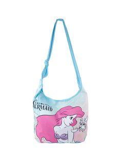 Disney The Little Mermaid Ariel & Sebastian Hobo Bag