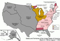 A GIF of the U.S. map as it's changed since late 1700s. Via +Marco Rogers