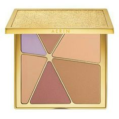 Aerin Kaleidoscope palette AERIN Beauty Kaleidolight face and eye palette features five skin-loving, light-enhancing shades of bronze, beige, pink and lavender to give your skin a subtle glow. Aerin Makeup Face Powder