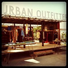 Urban Outfitters Pop up - We love shops and shopping - seanmurrayuk.com & www.facebook.com/shoppedinternational