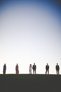 Bridal party portrait. Photography By / http://hawesphotography.com