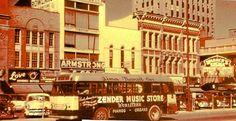 Main Street -- Lima, Ohio c. 1955