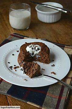 Chocolate flax breakfast muffin