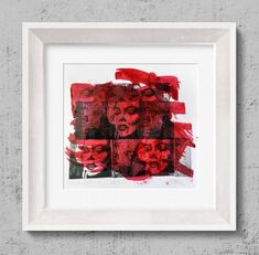 "Saatchi Art Artist Tezcan Bahar; Printmaking, ""Marelyn Series - 7 - Limited Edition 1 of 1"" #art"