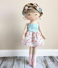 Beautiful Keepsake Doll by SpunCandy #spuncandydolls #handmadedoll