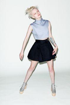 davidmcortes:  Page Ruth for Cake Magazine photo: David Michael Cortes Fashion: DEANDRI