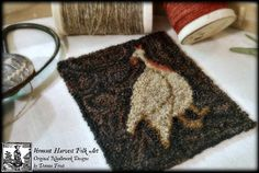 From A Little Brown House In Vermont: ~Goode Turkeys In Wool Threads~