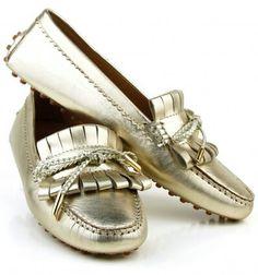Dea Sandals Capri mocassino in pelle platino con baffo e laccetto mocassini personalizzabili www.deasandals.com