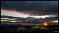 """Et av mange, mange bilder i Facebookgruppa """"Bodø i dag""""."""