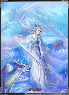 [link] [link] Oh Merry Christmas! Oh Merry Christmas Fantasy Girl, Chica Fantasy, Fantasy Female Warrior, Fantasy Women, Female Art, Jig Saw, Vision Art, Art Carte, Art Asiatique