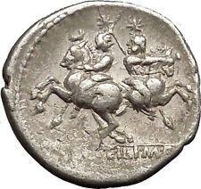 Roman Republic 136BC Rome Roma Dioscuri Gemini Twins Ancient Silver Coin i52655 #ancientcoins https://ancientcoinsaustralia.wordpress.com/2015/10/30/roman-republic-136bc-rome-roma-dioscuri-gemini-twins-ancient-silver-coin-i52655-ancientcoins/
