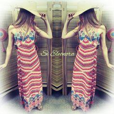 Vestido largo musculosa