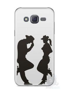 Capa Capinha Samsung J5 Cowboy e Cowgirl - SmartCases - Acessórios para celulares e tablets :)