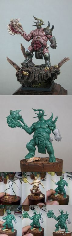 Lord of Nurgle....Tooth Fairy! - green and wip -