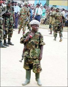 sometimes, child soldiers fight in the front lines of the battlefield. They also work as lookouts, spies, messengers and participate in suicide missions . While the Girls may forced into sexual slavery