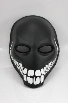 """Army of Two Airsoft Mask and Prop Mask """" The Smiley"""" Airsoft Gas Mask, Mouth Mask Design, Army Of Two, Purge Mask, Helmet Armor, Fiberglass Resin, Half Face Mask, Funny Dog Memes, Cool Masks"""