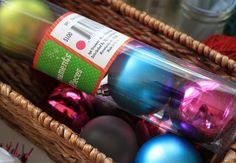 Yarn and ornament wreath