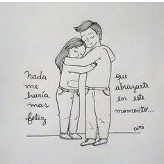 Abrazos que dan #felicidad